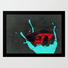 new Car ?? Art Print