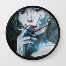 Constant in the Darkness Wall Clock