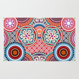 ECLECTIC FLOWERS Rug
