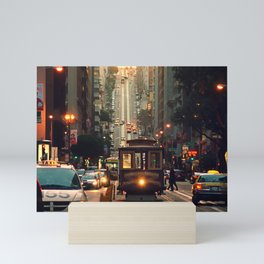 Cable car - San Francisco, CA Mini Art Print