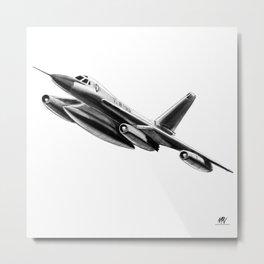 Convair B-58 Hustler Metal Print