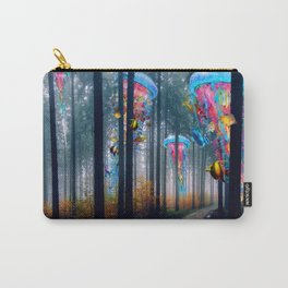 Forest of Super Electric Jellyfish Worlds Carry-All Pouch