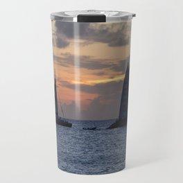 Sailing into the sunset Travel Mug