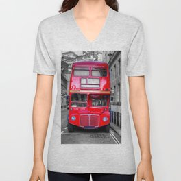 London Routemaster Unisex V-Neck