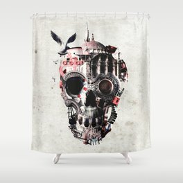 Istanbul Skull Shower Curtain