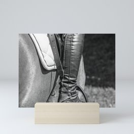 Horse Jumping 3 Mini Art Print