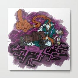 Twilight Mistress Metal Print
