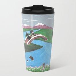 Looking for Nessie - Scotties - Scottish Terriers Travel Mug