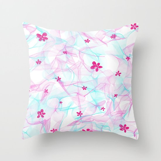 Summer soft Throw Pillow