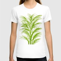 lime T-shirts featuring Lime Palms by Cat Coquillette