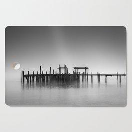 Pier in Fog Cutting Board