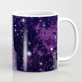 Violet milky way galaxy and starry sky Coffee Mug