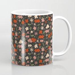 Mini Ditsy Floral Wildflower Print Coffee Mug