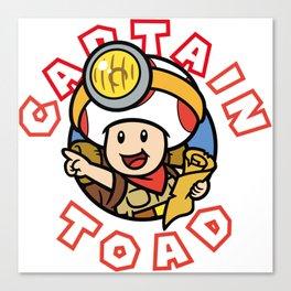 Captain Toad Canvas Print
