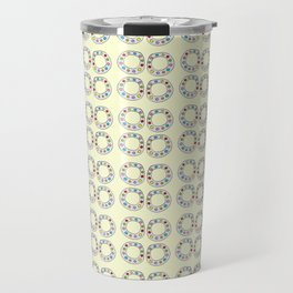 Circle and abstraction 8-abstraction,abstract,geometric,geometrical,pattern,circle,sphere Travel Mug