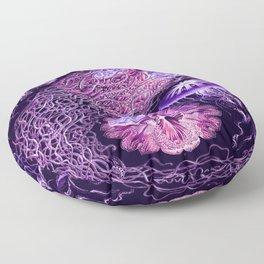 Ernst Haeckel Discomedusae Plate 8 Floor Pillow