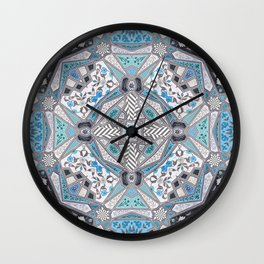 Mughal Kaleidoscope Wall Clock