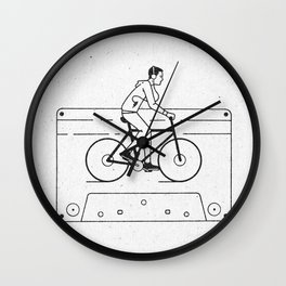 Welcome to Your Tape (Alternate Version) Wall Clock
