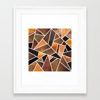 earth Framed Art Prints featuring Earth by Elisabeth Fredriksson