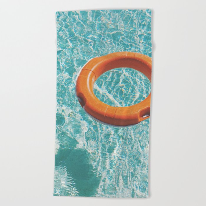Swimming Pool III Beach Towel by cassiabeck | Society6