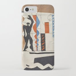 The Modulor Sketch by Le Corbusier iPhone Case