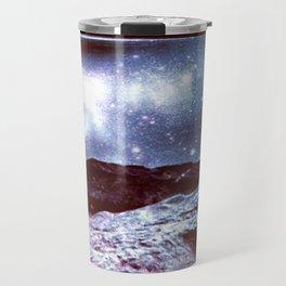 Magical Mountain Lake Colorful Travel Mug