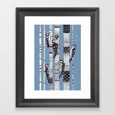 Woodpeckers Framed Art Print