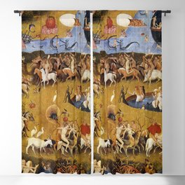 An insight into Heaven - Hieronymus Bosch Blackout Curtain