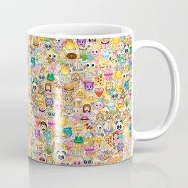 Emoticon pattern Coffee Mug