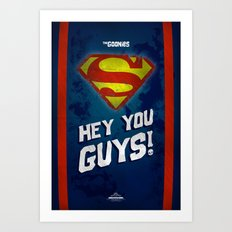 Hey You GUYS!!!! Art Print