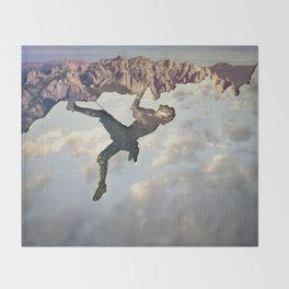 In the Sky Throw Blanket