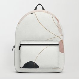 Abstract Minimal Art 31 Backpack