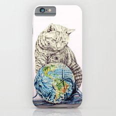 In which our feline deity shows restraint  iPhone 6s Slim Case