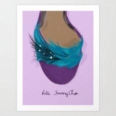 #theFIserie: Rita Art Print