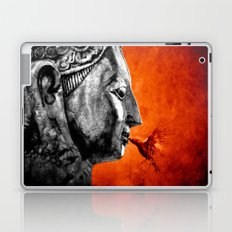 BUDDHA KISS - frame orange black version Laptop & iPad Skin