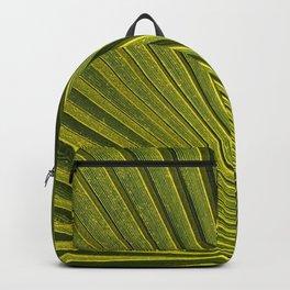Green Plam Leaf Backpack