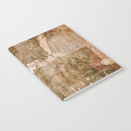 Vintage & Shabby Chic - Victorian ladies pattern Notebook