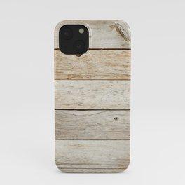 Rustic Barn Board Wood Plank Texture iPhone Case