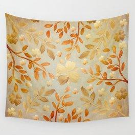 Golden Autumn Wall Tapestry