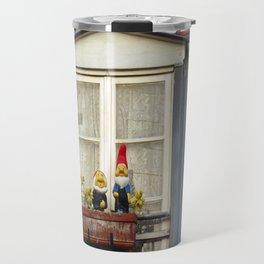 Dwarfs on Window Box Travel Mug