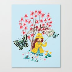 Butterfly Catcher Canvas Print