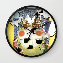 COLLAGE: Soccer Wall Clock
