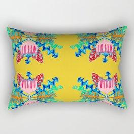 Botanical star-yellow8 / Rectangular Pillow