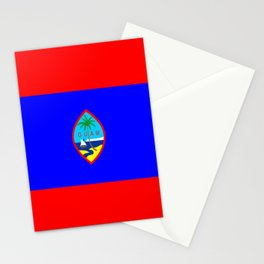 Guam country flag Stationery Cards