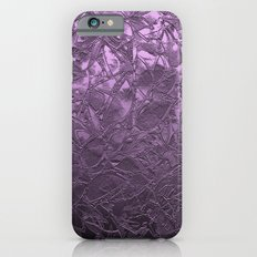 Metal Grunge Relief Floral Abstract G166 Slim Case iPhone 6