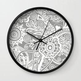 Tones of gray Wall Clock