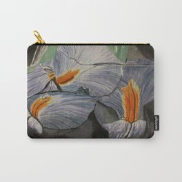 Flowers Drowning series - Iris Carry-All Pouch