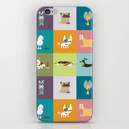 Who let the dogs out? iPhone Skin