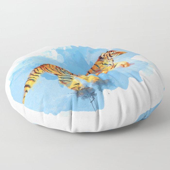 Tiger Cub Floor Pillow
