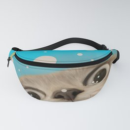 """Fun Kitty and Polka dots"" Fanny Pack"